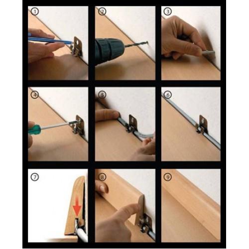 Монтаж плинтуса пластикового своими руками пошаговая инструкция 898